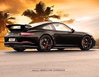 commissioned 2015 PORSCHE 991 GT3 + HRE/RS105/PZero