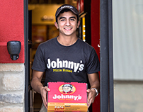 Johnny's Pizza House rebranding & marketing