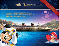 Disney Cruise Line sales initiative flyer