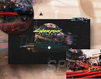 Cyberpunk website - Concept