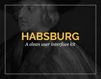 Habsburg UI Kit - Free .psd Download