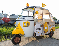 Tuk Tuk Ambulance for SHOTERIA Bar