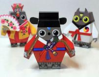 Tum-dedum! The Robot Show!