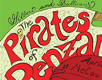 Poster - The Pirates of Penzance
