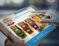 Buram Bal / Honey Web Design