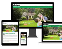 A Cut Above Landscaping Website