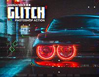 Animated Glitch 2 - Photoshop Action