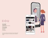 C·O·U - change of us - personal image management system