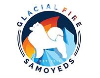 [Logo] Glacial Fire Samoyeds
