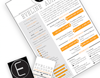 Creative CV and Business Card