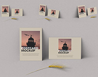 Postcard Mockup Photoshop Template