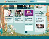 La liga de los multiples web site