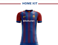 Fc Barcelona Football Kit 18/19.