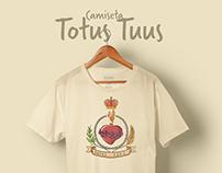 Camiseta | Totus Tuus