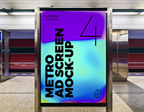 Metro Ad Screen Mock-Ups 6 (v.2)