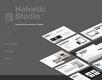 Helvetic Keynote Design Presentation