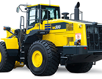 Wheel Loader and Escavator Ad Concepts