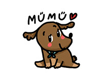 MUMU THE DOG.
