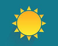 Animated weather icons (gif)