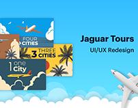 شركة جاكور السياحية UI/UX Jaguar Tours