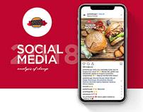 Packet Burger / Social Media