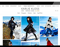 IMG Models: Site Redesign Webby Award Honoree
