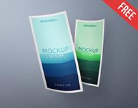 DL Flyer – 2 Free PSD Mockups