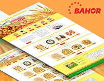 Website about bakery products