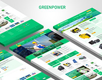 Website for engineering company