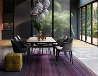 Naziri Carpets - Product Visualization Interior Display