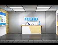 TECNO Exclusive store design