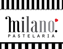 "Pastelaria ""Milano"" Rebranding"