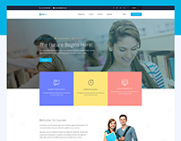 Coursecity Education landing page