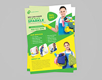 Cleaning Flyer Template