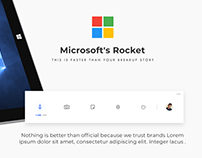 Microsoft Rocket Widget Concept