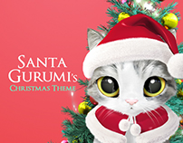 Santa Gurumi's Christmas Theme