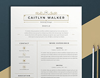 Resume Caitlyn