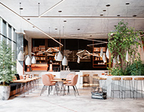 MODERN COFFEE RESTAURANT DESIGN