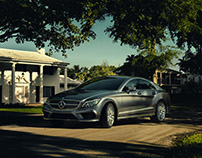Mercedes-Benz CLS CGI+Retouching
