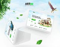ArtMoney | брендбук | веб-сайт | landing page