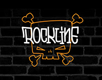 ROCKLINE CRAFT BEER PUB branding