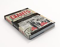 Giants on Record - Book Cover Design