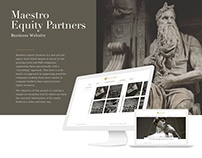 Maestro Equity Partners Website