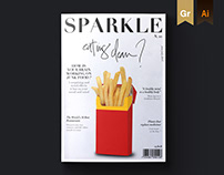 SPARKLE Magazine / Editorial design