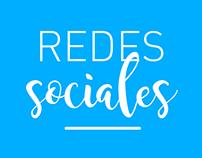 REDES SOCIALES / diseño de flyer