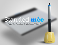 Standed Mee Wacom Pen Tablet Holder (Concept)
