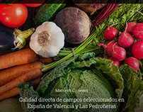 Diseño Web Mafresh Growers