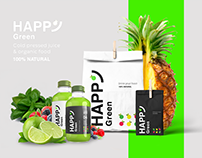 Happy Green /// brand design