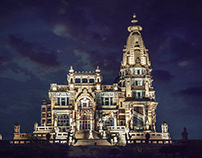 Baron Palace - Land space design