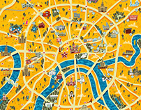Drawing Map of Moscow